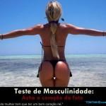 Teste de masculinidade – Ache o coração da foto